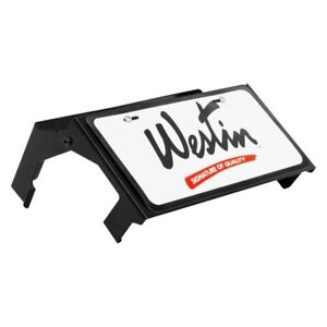 Westin Black Powder Coat Max Winch Tray License Plate Relocator