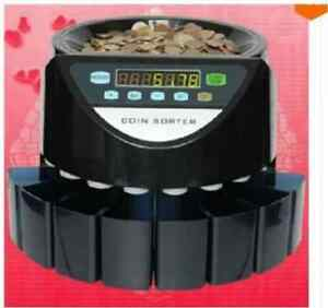 Coin Counter Cash Currency Multi Machine Business Shop Sorter Money Small Dollar