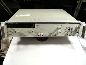 Hp 5328a Universal Counter W Dvm And Channel C Tested