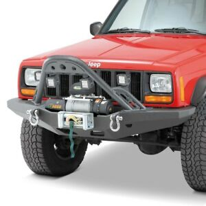 For Jeep Cherokee 1984 2001 Smittybilt 76812 Xrc Front Stinger