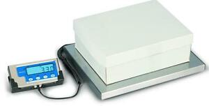 Brecknell Lps 400 Portable Digital Shipping Scale 400 Lb X 0 2 Lb plate 15x12