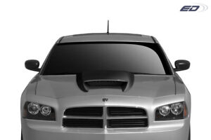 Duraflex Srt Look Hood Cowl Scoop Vent 1 Piece For Universal Universal Ed_1