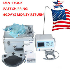 Azdent Implant Motor System Dental Led Surgical Brushless Contra Angle Handpiece