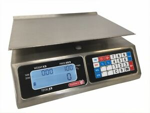 Tor rey Lpc 40l 40lb Portable Digital Computing Scale Ntep Legal For Trade