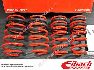 Eibach Sportline Series Lowering Springs For 2011 2014 Ford Mustang 3 7l 5 0l