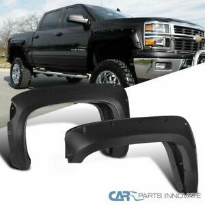Chevy 14 18 Silverado 2500hd 3500hd 69 3 Short Bed Pocket Rivet Fender Flares