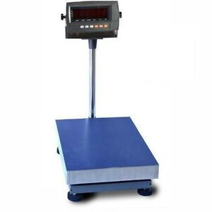 800 Lb Digital Shipping Scale Industrial Bench Floor Postal Animal Personal