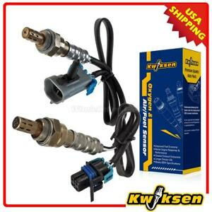 2pcs Oxygen O2 Sensor 1 2 Upstream Downstream For 04 05 Gmc Envoy Xl Xuv Canyon