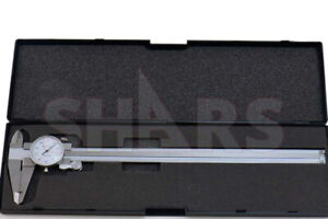 Shars 0 12 X 0 1 4 Way Dial Caliper Stainless Steel Shock Proof New