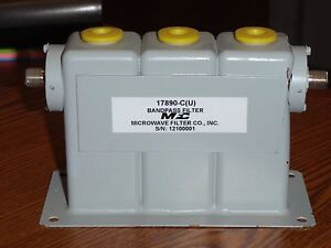 Microwave Filter Co 17890 c u Bandpass Filter For Lte