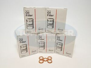 Genuine Nissan Oem Oil Filter 15208 9e01a 11026 Ja00a 5 Pack