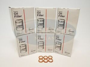 Genuine Nissan Oem Oil Filter 15208 9e01a 11026 Ja00a 6 Pack