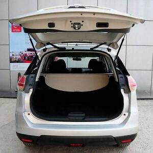 Beige Rear Trunk Cargo Cover Security Shield For Nissan Rogue X trail 2014 2017
