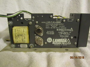 Lambda 18v Power Supply Lns p 20 43868 Tested Working From Picker Ct