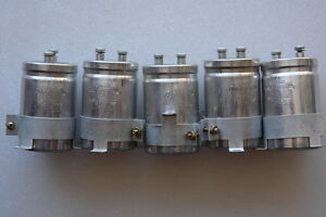 Sprague Electrolytic Capacitor 9500uf 30v Dc Lots Of 5
