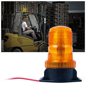 Forklift 30 Led Beacon Light Strobe Lamp Hazard Emergency Flashing Warning Amber