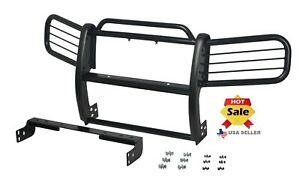 2005 2010 Jeep Grand Cherokee Bumper Brush Grille Grill Guard In Black