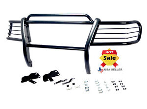 99 04 Jeep Grand Cherokee Brush Grill Guard Black Bumper Bar Guard