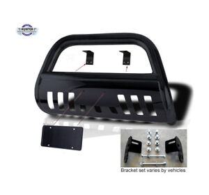 2014 up Toyota Tundra Black Classic Bull Bar Powder Coated Push Bar Bumper
