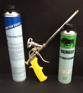 Pu Foam Gun Minimal Expanding Foam And Foam Gun Cleaner