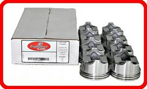1968 1973 Ford 429 7 0l Ohv V8 8 dish top Pistons 030 040 060