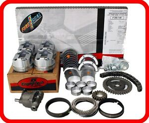 80 81 Pontiac Chevy Olds Buick 151 2 5l Ohv L4 Engine Rebuild Kit