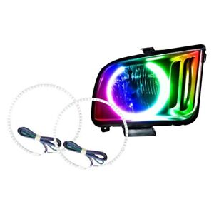 Ford Mustang 2005 2009 Oracle Lighting Smd Colorshift Halo Kit For Headlights
