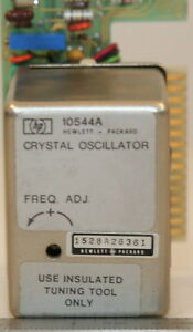 Agilent hp 10544a Crystal Oscillator 10 Mhz With Circuit Card 2