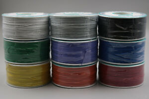 9pcs Nine Color 250m Wire wrapping Wire Cable 30awg 0 25mm