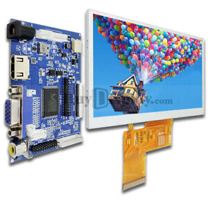 5 5 Inch Tft Lcd Display W hdmi vga av Video Driving Board For Raspberry Pi