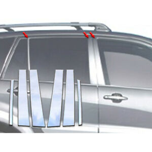 6pc Luxury Fx Stainless Steel Pillar Post Trim For 2001 2005 Toyota Rav4