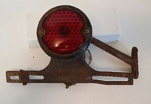 Woodie Tail Light With Mounting Arm And License Plate Bracket Ford Gmc Rat Rod