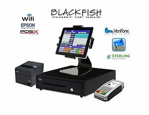 Emv Package Tablet Blackfish Bar Restaurant Pos System Touchscreen Windows 10