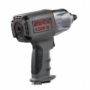 Nitrocat 1200 k 1 2 inch Kevlar Composite Twin Clutch Air Impact Wrench
