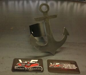 Anchor Hitch Cover 1 8 Steel Tow Towing Reese Custom Sailing Fishing Boat