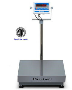 Salter Brecknell 3800lp Bench Check Weigher Scale 150x0 05 Lb ntep legal Trade