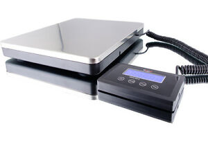 Digital Portable Shipping Bench Scale 360x0 2 Lb kg lb lb oz ac Adaptor 110 240v