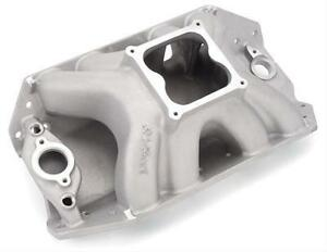 New Edelbrock Big Victor Hv Spread port Intake Manifold Bb Chevy Chief Duke 2803