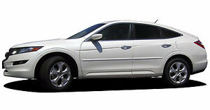 4pc Painted Body Side Moldings Fits 2011 2012 2013 2014 2015 Honda Crosstour