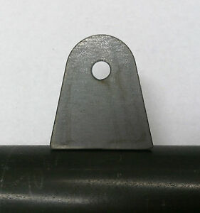 20pack Flat Weld Tab 1 4 Hole 1 1 8 Height 1 16 Thick Laser Cut From Mild Steel