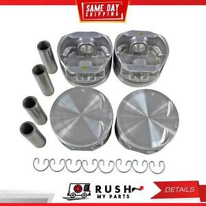 Dnj P311 Std Size Complete Piston Set For 94 98 Saturn Sc2 Sl2 1 9l L4 Dohc 16v
