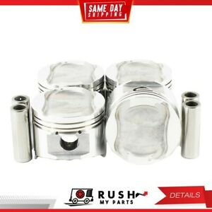 Dnj P460 20 Oversize Complete Piston Set For 92 95 Mazda 323 1 6l Sohc 16v