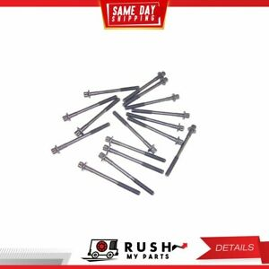 Dnj Hbk440 Cylinder Head Bolt Set For 92 94 Mazda 1 8l V6 Dohc 24v