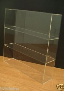 Acrylic Counter Top Display Case 16 X 4 X 16 Show Case Cabinet Shelves