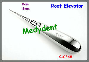 Root Elevator Bein 2mm Dental Surgical Instruments C 0348