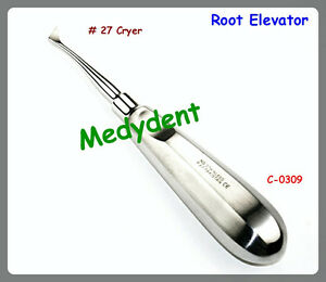 2 Root Elevator Cryer C 0309 Dental Instruments