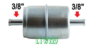 4 3 8 Gas Filter Canister Chrome Universal
