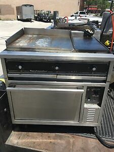 Toastmaster Oven Flat Grill Combo