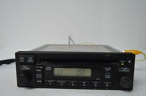 03 04 05 06 07 08 09 10 11 Honda Civic Element Cd Radio Stereo Tested V35 015