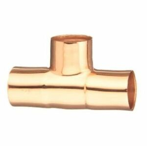 2 Copper Tee Id Plumbing Fitting Elkhart 10032970 Box Of 10